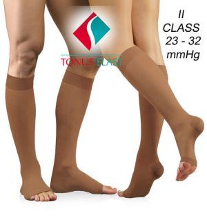 Elastic compression stocking ( 23 - 32 mmHg ), LUX , 3/4