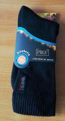 Diabetic thermal socks