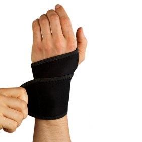 Лента за китка с отвор за палец
