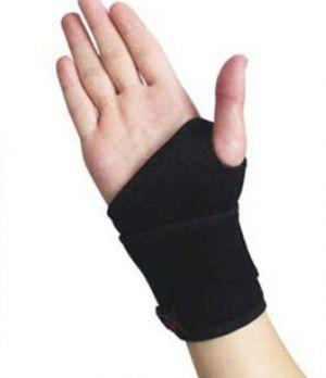 Wrist support bandage