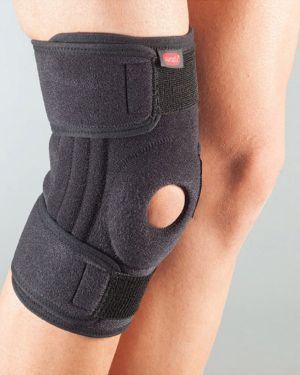 Наколенки със странични гъвкави шини за стабилизиране на коляното, 1 пластична шина